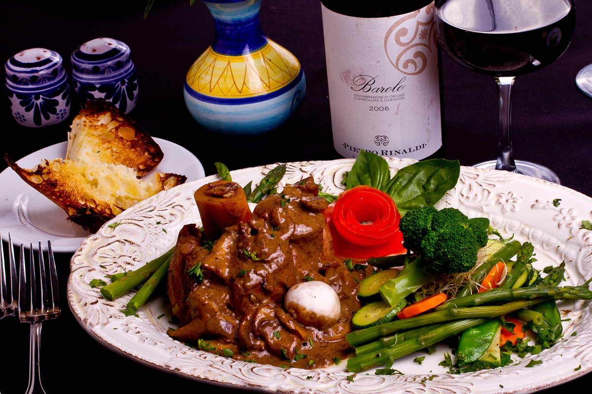 Signature Dishes & Wine List